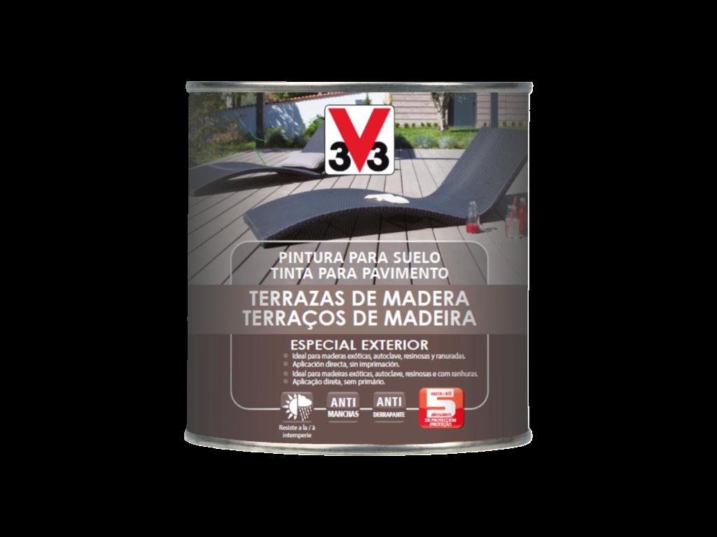 Pintura Terrazas De Madera V33